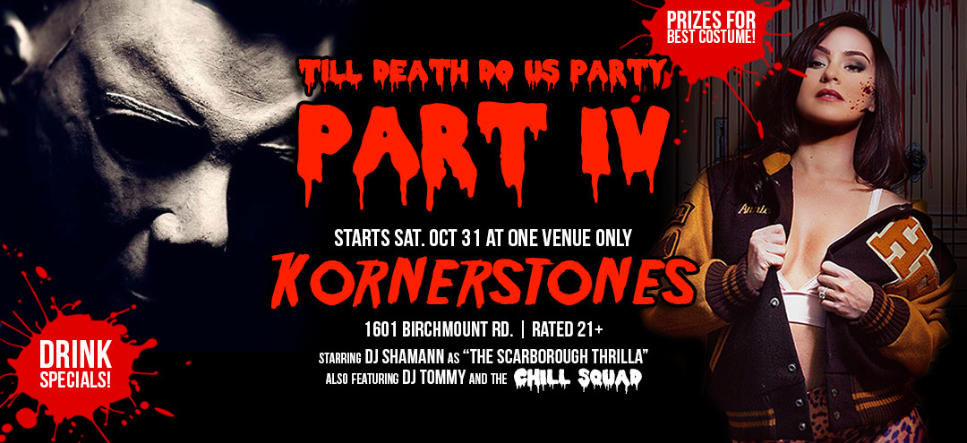 Till Death Do Us Party! Halloween 2015 – Oct. 31st