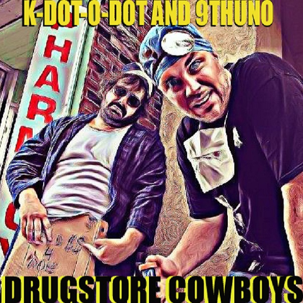 K-Dot-O-Dot & 9th Uno – The Drugstore Cowboys (2010)