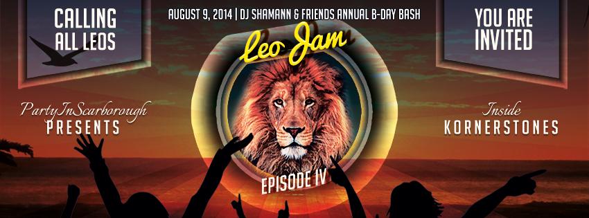 Leo Jam 2014! – August 9th