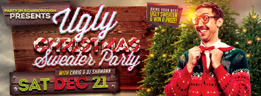 Ugly Christmas Sweater Jam 2013