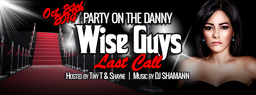 Wise Guys (Danforth) Farewell Bash – Oct. 24th