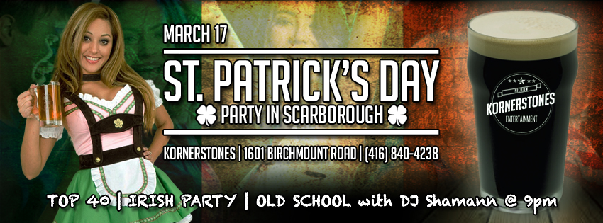 Paddy's Day 2015!