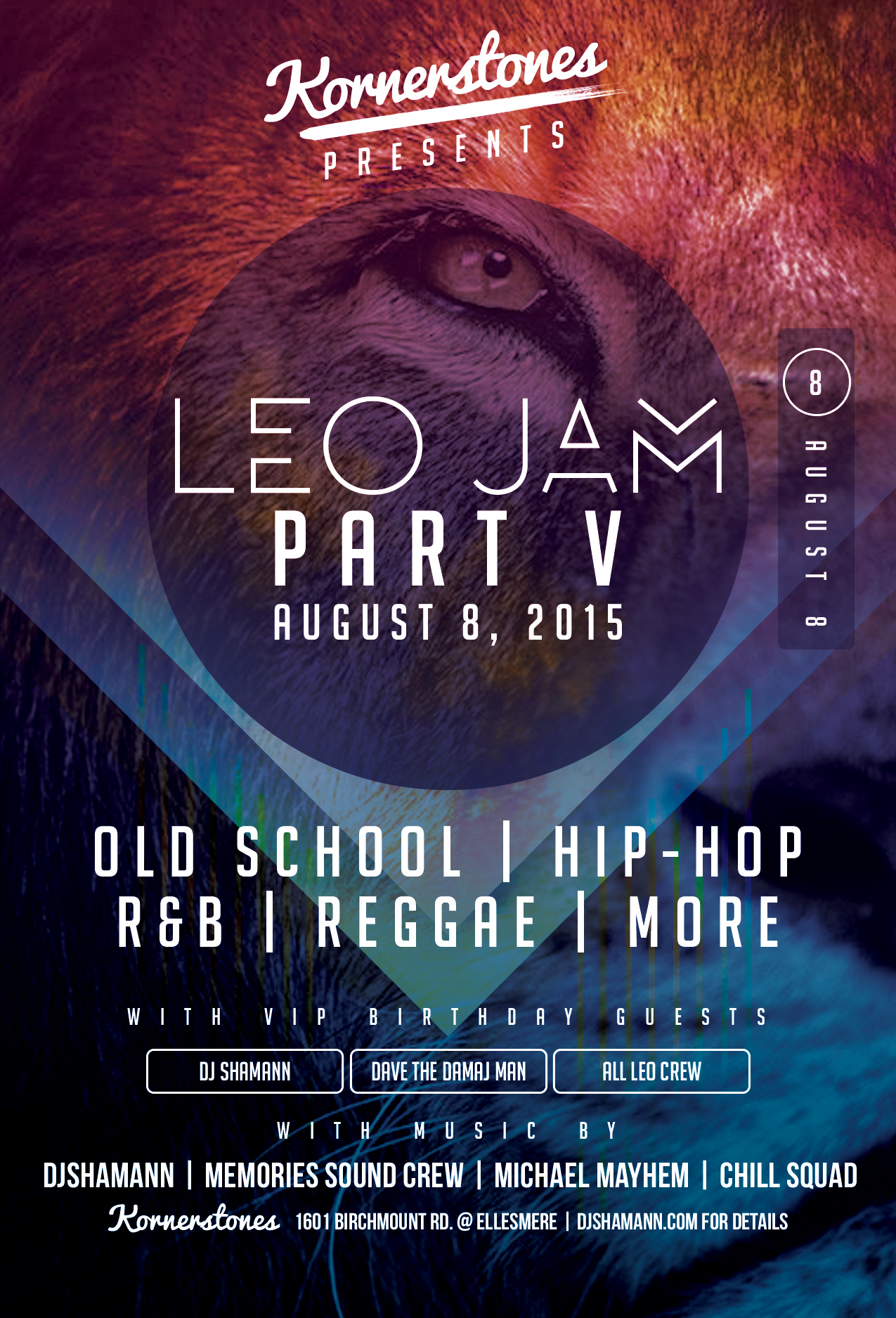 dj shamann, leo jam, scarborough