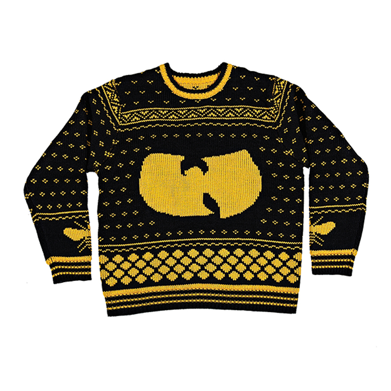 hip hop ugly christmas sweaters, wu-tang clan ugly sweater